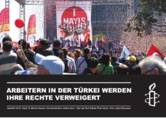 Istanbul 2010: 1. Mai Kundgebung auf dem Taksim Platz